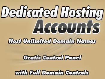Popularly priced dedicated hosting server accounts